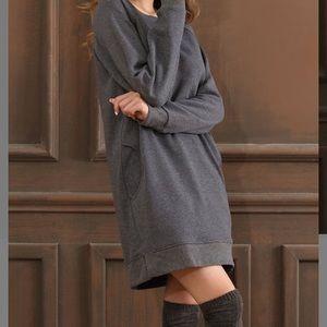 Fleece long top